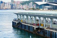 Porto do ferryboat Imagem de Stock