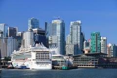 Porto do lugar de Canadá Fotos de Stock Royalty Free