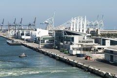Porto do navio de cruzeiros de Miami Imagens de Stock