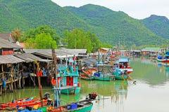 Porto do plutônio do golpe em Khao Sam Roi Yot National Park, Tailândia Fotografia de Stock Royalty Free