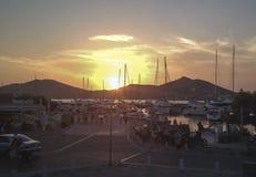 Porto do por do sol - puerto do un de puesta de solenoide en Foto de Stock