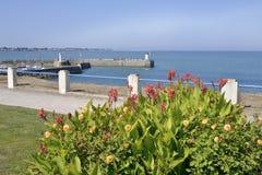 Porto do Saint-Michel-Cozinheiro chefe-cozinheiro chefe em França Fotos de Stock Royalty Free