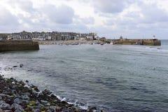 Porto do ST Ives, Cornualha fotos de stock
