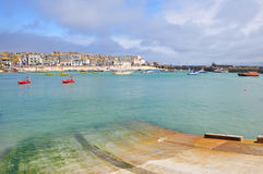 Porto do St Ives, Cornualha, Inglaterra Fotografia de Stock