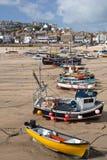 Porto do St Ives na maré baixa Imagem de Stock Royalty Free