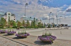Porto do sul em Luleå Fotos de Stock