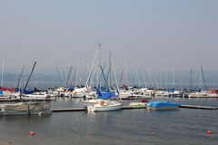 Porto do veleiro Imagem de Stock
