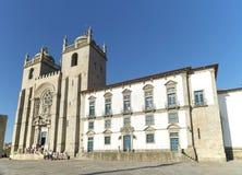 Porto domkyrka Portugal Royaltyfri Foto