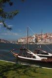Porto, douro et vin gauche Photos libres de droits