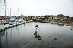 Porto e barcos de San Francisco Bay Area Fotografia de Stock Royalty Free