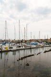 Porto e barcos de San Francisco Bay Area Imagens de Stock
