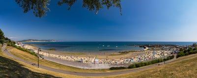 Porto e Cobb di Lyme Regis fotografia stock libera da diritti