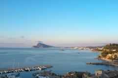 Porto e louro de Altea imagem de stock royalty free
