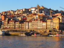 Porto e nolla rio Douro Royaltyfria Foton