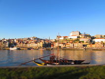 Porto e nolla rio Douro Arkivbilder