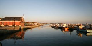 Porto e porto de Poole Foto de Stock Royalty Free