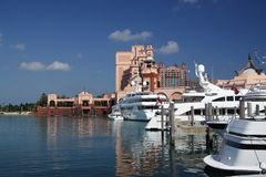 Porto e recurso luxuosos Foto de Stock Royalty Free