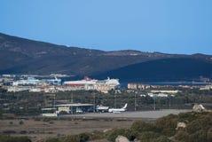 Porto ed aeroporto Fotografia Stock Libera da Diritti