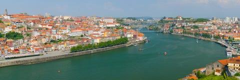 Porto an einem Sommertag Stockfotografie