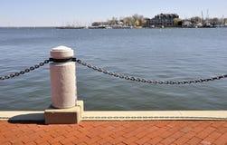 Porto em Annapolis, Maryland Fotos de Stock Royalty Free