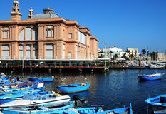 Porto em Bari Fotos de Stock Royalty Free
