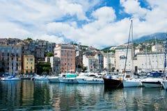 Porto em bastia Fotografia de Stock Royalty Free