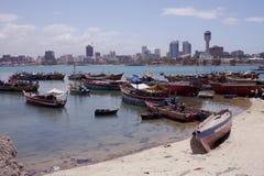 Porto em Dar es Salaam, Tanzânia Fotografia de Stock