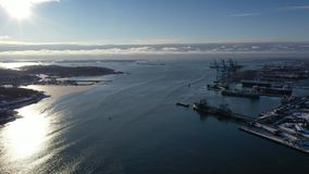 Porto em Gothenburg vídeos de arquivo