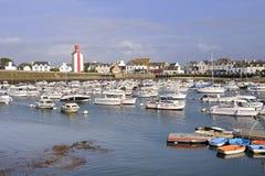 Porto em Guilvinec em França fotos de stock royalty free