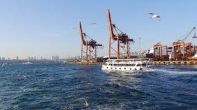 Porto em Istambul Foto de Stock