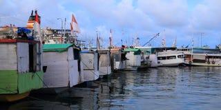 Porto em Labuan Bajo foto de stock royalty free