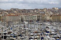 Porto em Marselha, França Foto de Stock Royalty Free