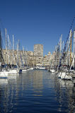 Porto em Marselha, França Fotografia de Stock