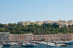 Porto em Monaco Foto de Stock Royalty Free