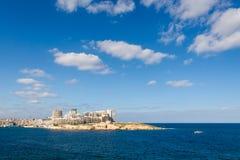 Porto em Msida em Malta Foto de Stock