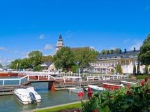 Porto em Naantali, Finlandia Imagem de Stock Royalty Free