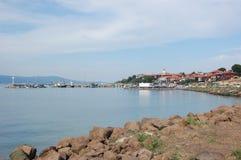 Porto em Nessebar, Bulgária Foto de Stock Royalty Free