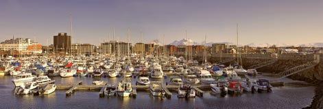 Porto em Noruega fotos de stock royalty free