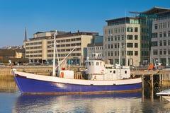 Porto em Noruega fotografia de stock royalty free