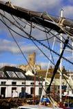porto em Penzance, Reino Unido imagens de stock royalty free
