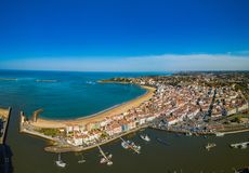 Porto em Saint Jean de Luz france fotografia de stock