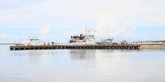 Porto em Sorong Fotografia de Stock Royalty Free