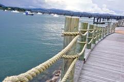 Porto em Tauranga Fotografia de Stock Royalty Free