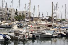 Porto em Tunísia (Sousse) Imagem de Stock Royalty Free