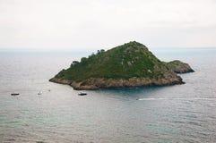 Porto Ercole eilandje Italië Stock Afbeeldingen