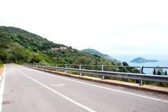Porto Ercole eilandje Italië Stock Foto