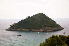 Porto Ercole islet Italien Lizenzfreie Stockfotografie
