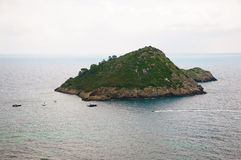 Porto Ercole. Islet. Italy Stock Images