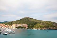 Porto Ercole Italië Royalty-vrije Stock Afbeelding