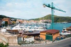 Porto Ercole Italië Stock Afbeelding